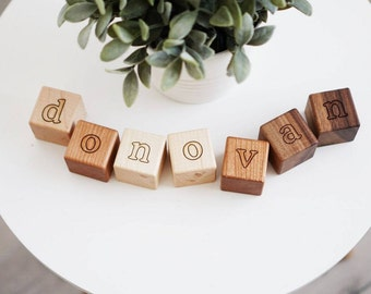 Personalized Blocks Personalized Gift Baby Name Blocks Baby Blocks Baby Shower Gift Wood Blocks Wooden Name Blocks Nursery Decor Home Décor