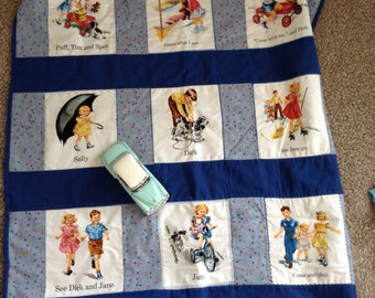 Dick and jane quilt pattern picture 801