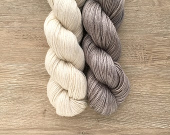 Dye-to-Order - Espadrille Fingering - Alpaca, Silk, Linen - Fingering