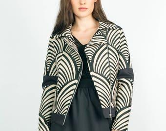 Pole printed jacket