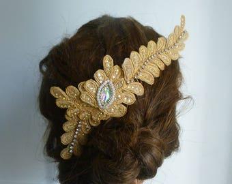 Beautiful headpiece Bridal Prom