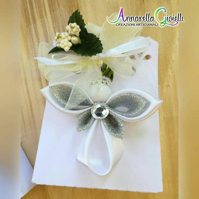 Cadeau Ange Pendentif Coeur Box Lasercut strass mariage baptême communion