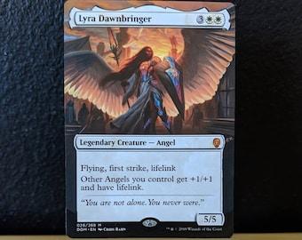 Altered Magic Card - Lyra Dawnbringer