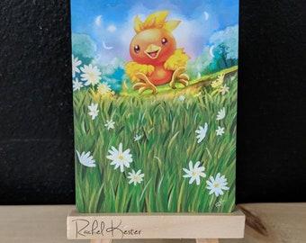 Altered Pokemon Card - Torchic