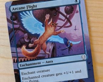 Altered Magic Card - Arcane Flight