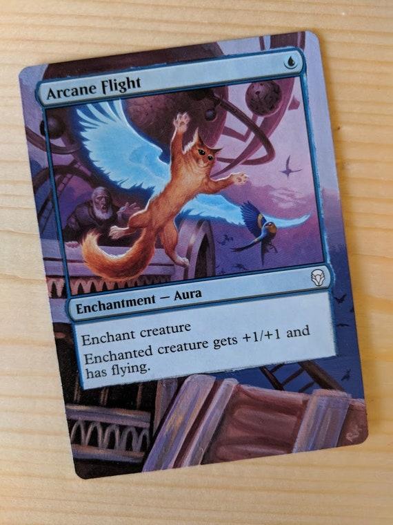 Modifié la carte magique - vol Arcane