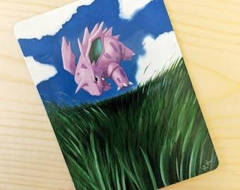 Altered Pokemon Card - Nidorino