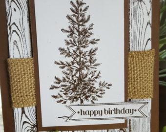 Lone Tree Birthday Card HB20