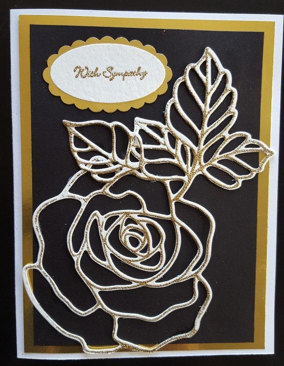 #SYM 9 With Sympathy Greeting Card