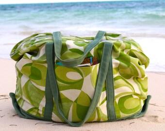 Tote Bag Pattern Beach Bag Pattern Instant Download