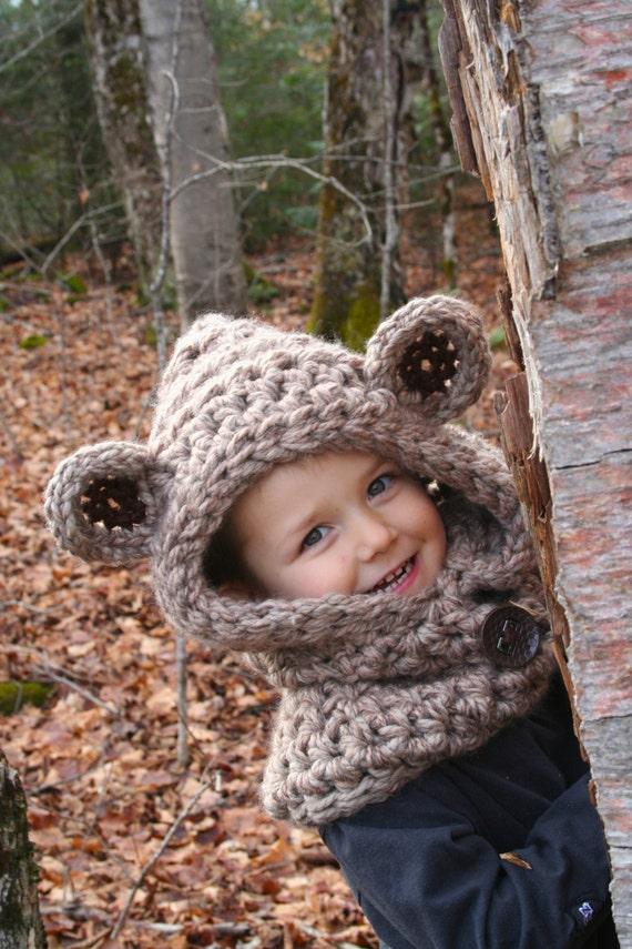 Ewok Hooded Cowl Pattern Crochet Pattern Ewok Star Wars Etsy
