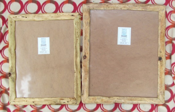 Rusticdriftwood Style Frames In Locally Sourcedrecycled Pine Etsy