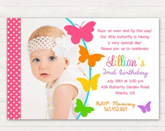 Butterfly Birthday Invitation, Butterfly Birthday, Butterfly Invitation, Butterfly Party, Butterfly Invite, Butterfly Printable DIY