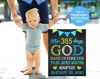 adoption sign printable