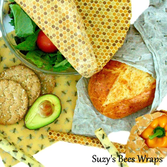 organic reusable food films4 ecological and organic washable food films bee wrap