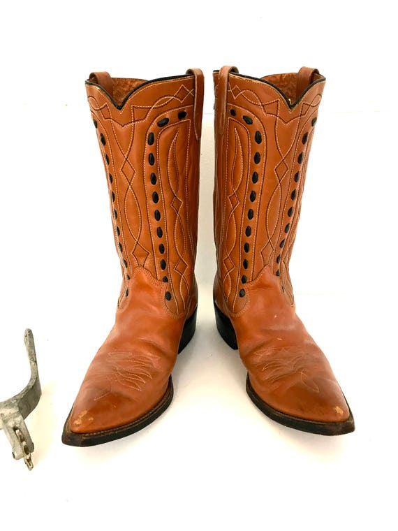 Vintage Cowboy Boots - image 9