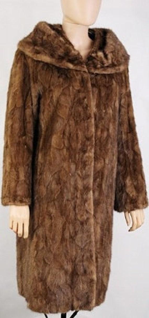 Vintage mink fur coat - As is