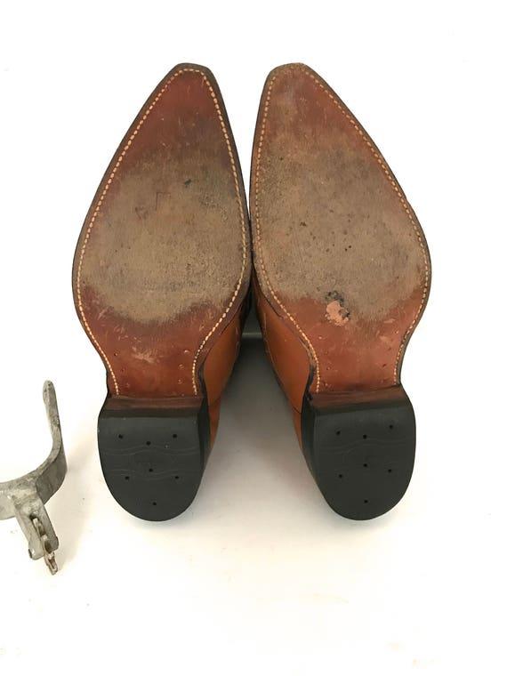 Vintage Cowboy Boots - image 8
