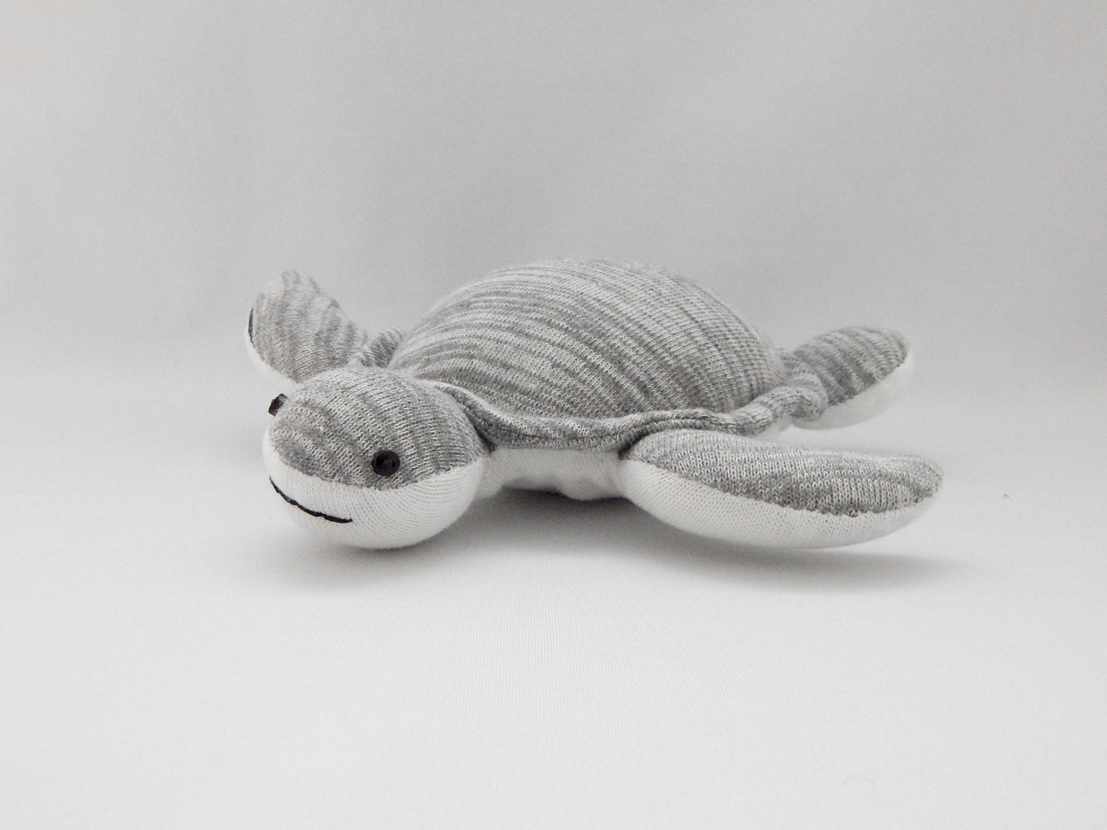 Sea Turtle Baby Plush Toy Turtle Plushie Stuffed Animal Etsy