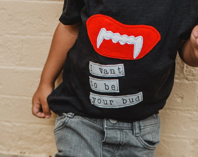 "Swanky Shank Gender Neutral ""I Vant To Be Your Bud"" Tee"