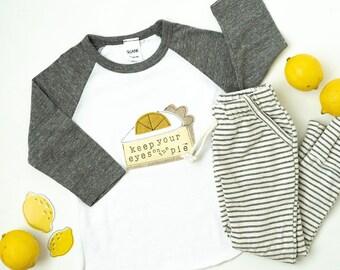 Lemon Meringue | Lemon Meringue Pie | Thanksgiving Shirt | Lemon Meringue Baby | Lemon Meringue Outfit | Friendsgiving Kids