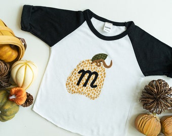 Personalized Pumpkin | Personalized Pumpkin Shirt | Fall Pumpkin Shirt | Personalized Pumpkin Outfit | Pumpkin Shirt