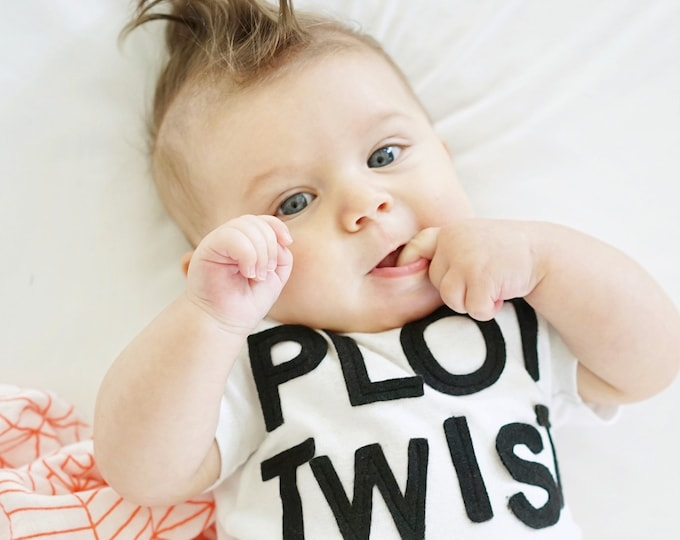 "Swanky Shank ""Plot Twist"" Bodysuit or Tee"