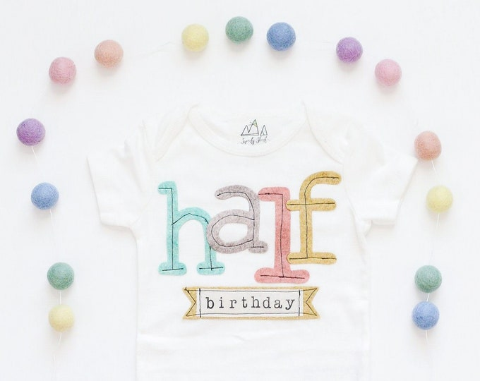 "Swanky Shank ""Half-Birthday"" Short Sleeved Design"