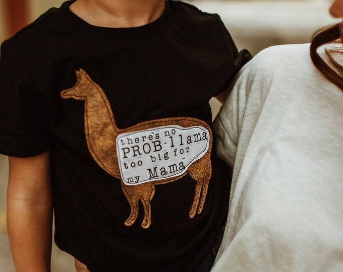 "Swanky Shank ""Llama Mama"" Mother's Day Tee"