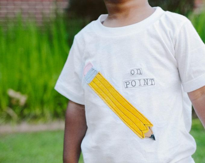 "Swanky Shank ""On Point"" Back to School Bodysuit or Tee"