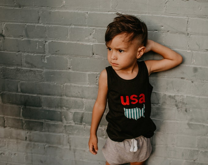 "Swanky Shank ""USA Play"" Tank or Tee"