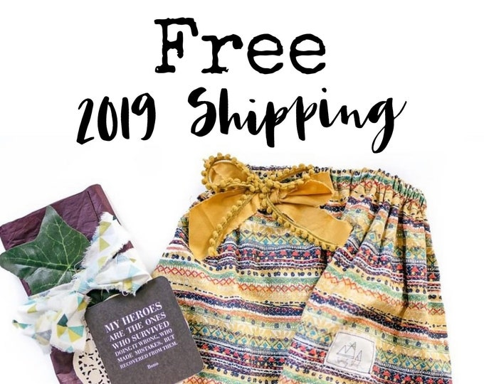 Exclusive ONE Year Free 2019 Shipping Add-On//Domestic Orders Only