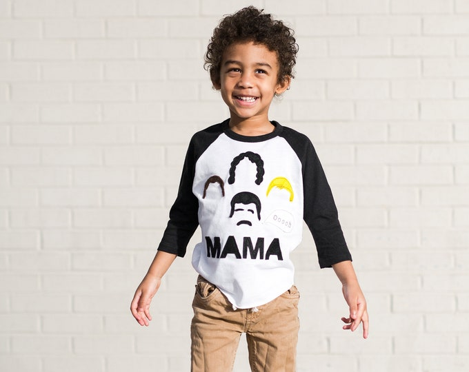 "Swanky Shank ""Mama!"" Lyric Mother's Day Shirt"