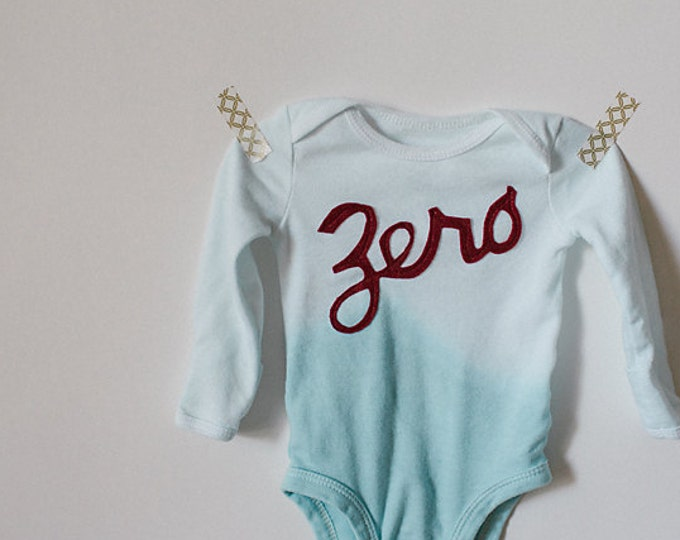 Swanky Shank UPGRADE Teal Ombre Dyed Bodysuit or Tee
