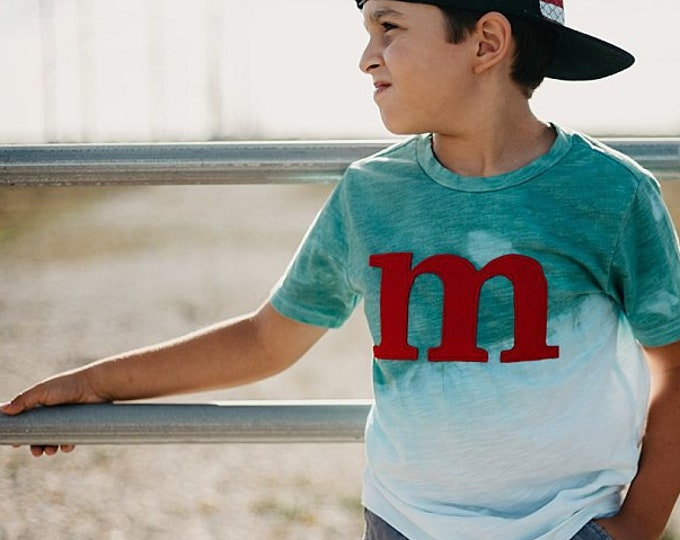 Swanky Shank Ombre DYED Initial Tee