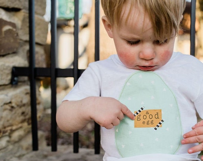 """Easter Toddler Shirt """"Last One's a Rotten Egg"""""""