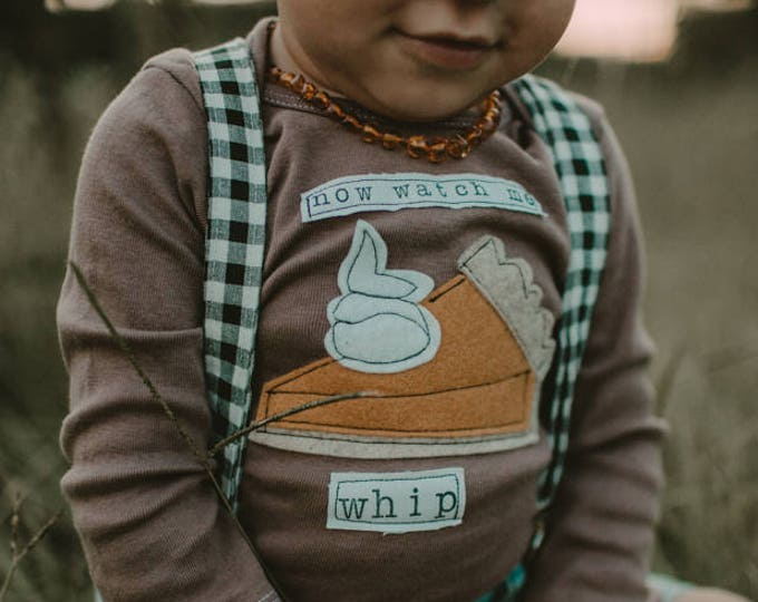 "Gender Neutral Thanksgiving ""Now Watch Me Whip"" Baby Shirt, Turkey Shirt, Toddler Thanksgiving Shirt, Funny Baby Shirt, Baby Gift"