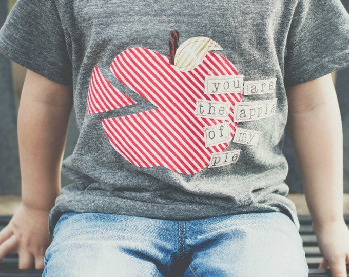 "Swanky Shank Gender Neutral ""You are the Apple of my Pie"" Tee"