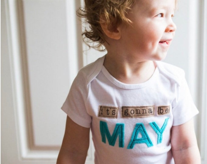"Swanky Shank ""It's Gonna Be May"" Tee or Bodysuit; Gender Neutral"