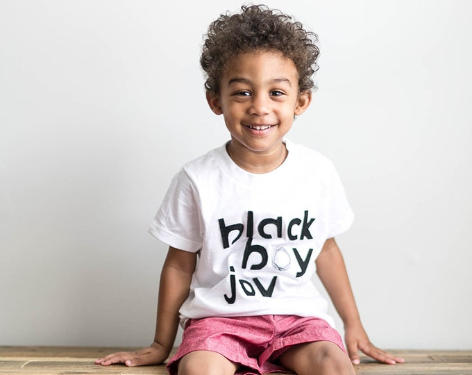 "Swanky Shank ""Black Boy Joy"" Bodysuit or Tee"
