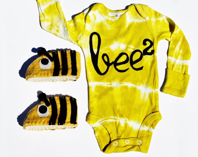 "Swanky Shank ""Bee Bee"" Bodysuit; Hand Dyed"