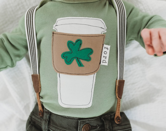 "Swanky Shank ""Matcha Luck Latte"" Bodysuit or Tee"
