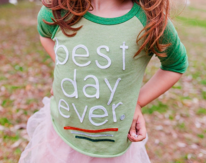 Gotcha Day Shirt; Toddler Birthday Shirt; Best Day Ever Tee