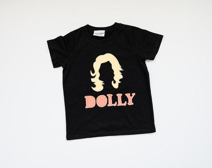 Girls Dolly Tee, Country Music Shirt, Feminist Tee, Girl Power Shirt