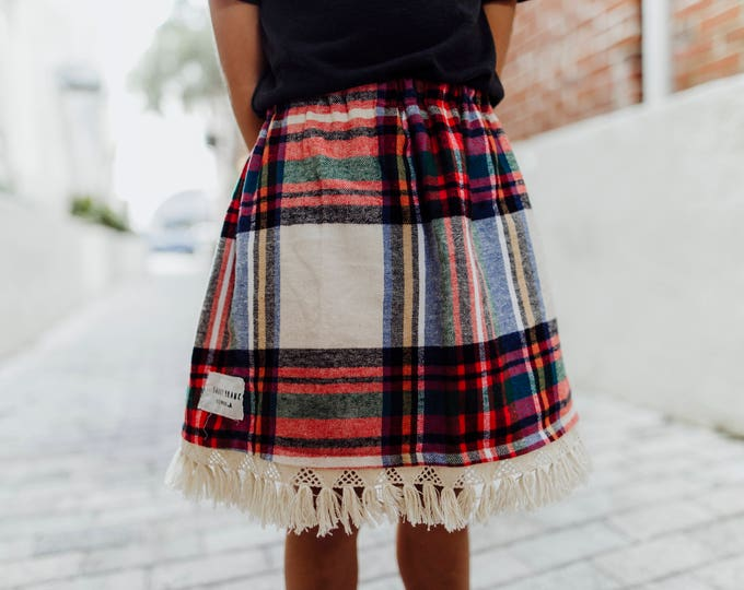 Swanky Shank Girls 'Plaids Well With Others' Skirt