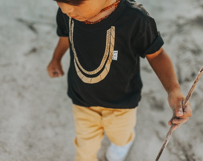 "Swanky Shank ""Two Chains"" Short Sleeve Tee; Second Birthday Tee"