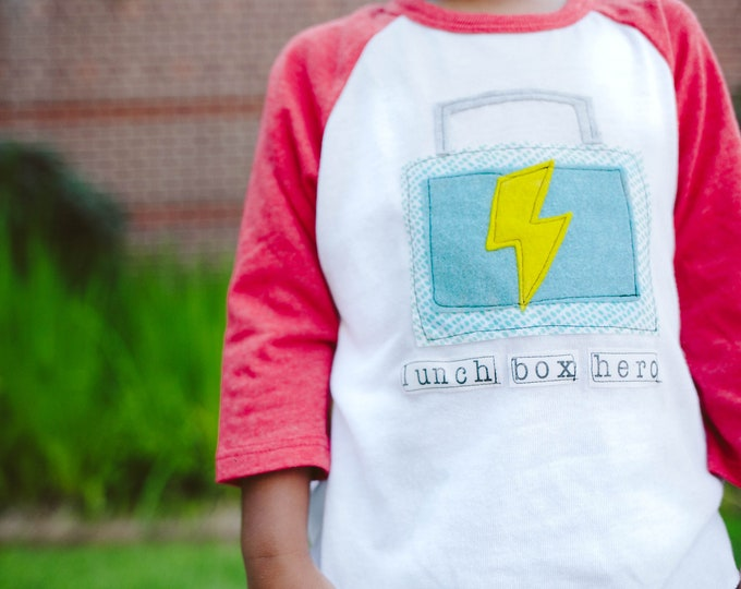 "Swanky Shank ""Lunch Box Hero"" Back to School Bodysuit or Tee"