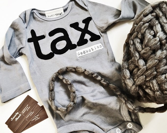 Swanky Shank Hand-Dyed Tax Deduction Bodysuit