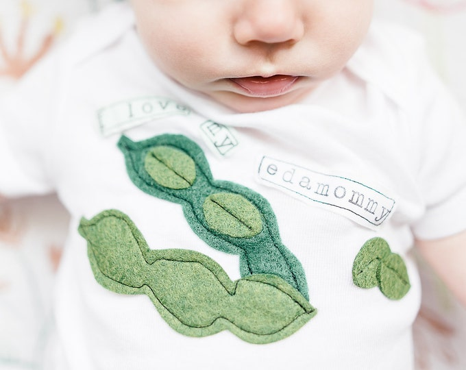 "Swanky Shank Mother's Day ""I Love My Edamommy"" Bodysuit or Tee"