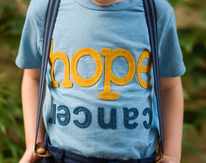 "The Gold Hope Project Tee ""Hope Floats"" Proceeds benefit TGHP"